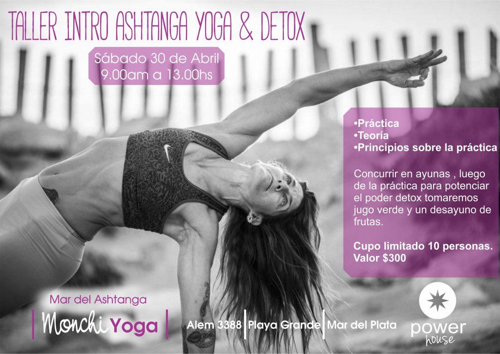 Taller Intro Ashtanga Yoga & Detox - Mar del Ashtanga